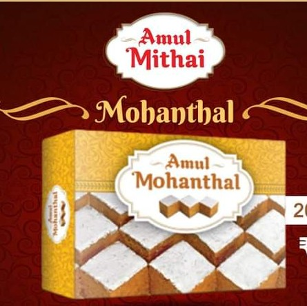Amul Mohantal Review: Is Amul's Mohanthal edible? Amul Mithai/Sweet Product