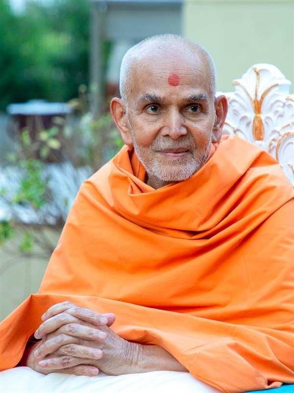 His Divine Holiness Mahant Swami Maharaj - Leader of BAPS Sanstha