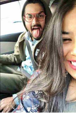 Bhuvan Bam with His Girlfriend - Arpita Bhattacharya