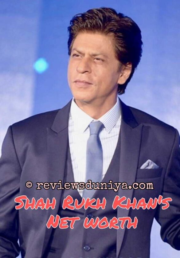 Shahrukh Khan's Net worth in 2021