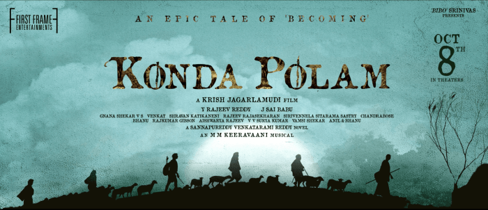 Konda Polam Movie (2021): Cast